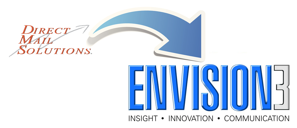 Direct Mail Solutions renamed to Envision3
