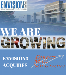 Envision3 Acquires Direct Mail Solutions