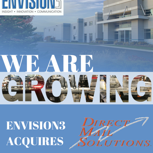 Envision3 Acquires Direct Mail Solutions (DMS)